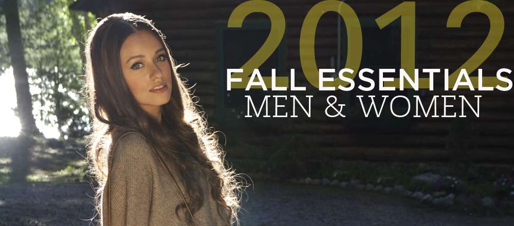 Fall Essentials 2012
