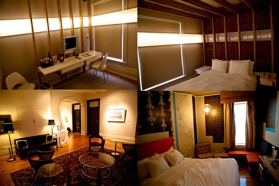 Rooms at the Gladstone Hotel
