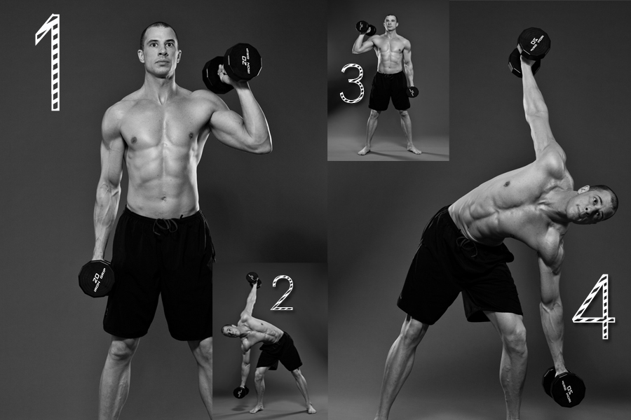 5 in 1 Abdominal Routine Antidote Magazine The RemedyOblique Exercises With Weights