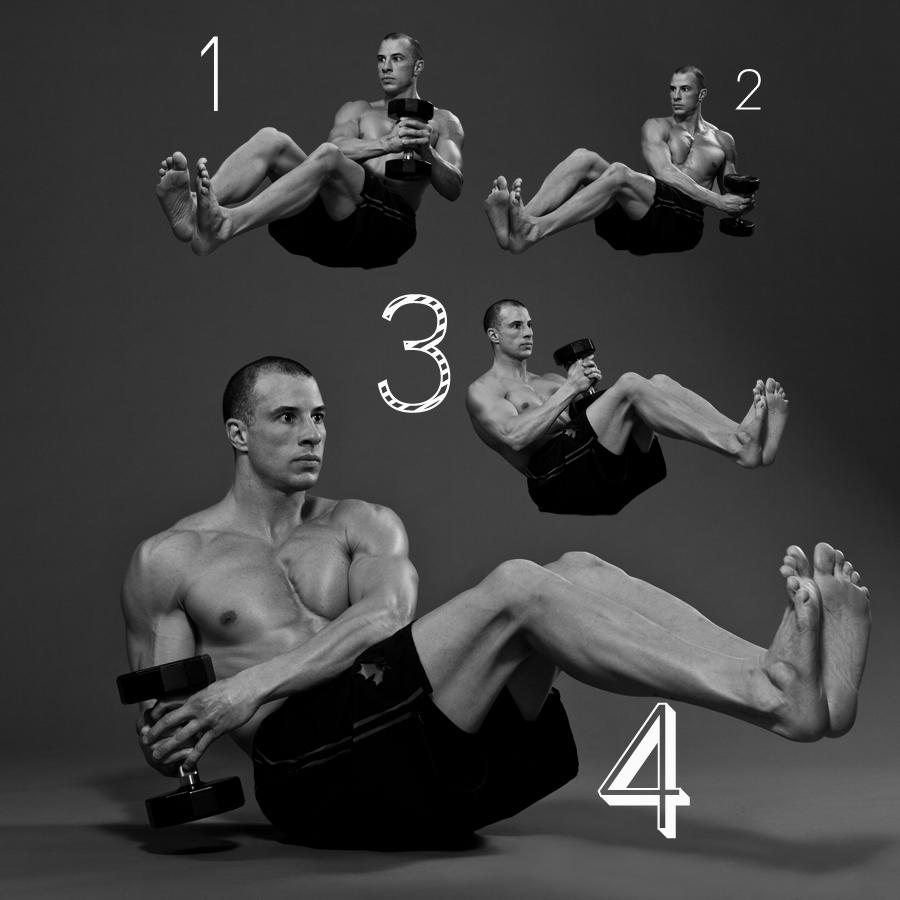 5 in 1 Abdominal Routine