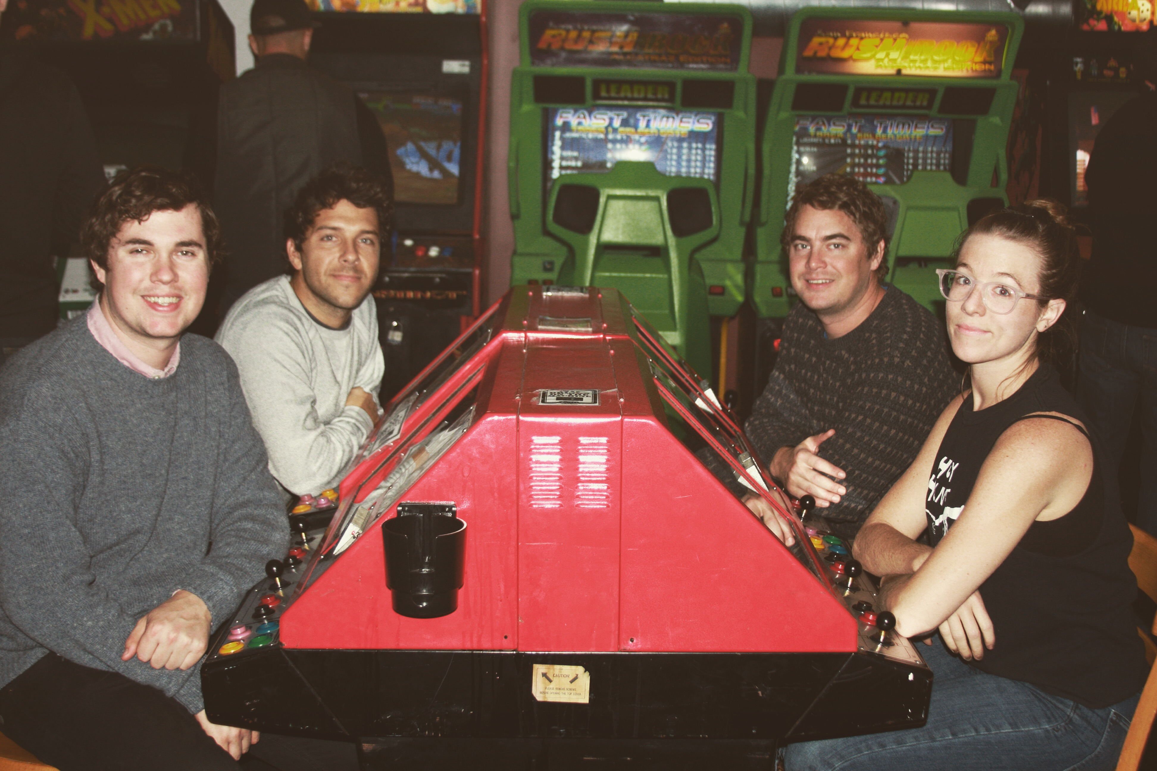 Band members from left to right: John Paul Pitts, Mike Mcleary, Tyler Schwarz, and Lindsey Mills.