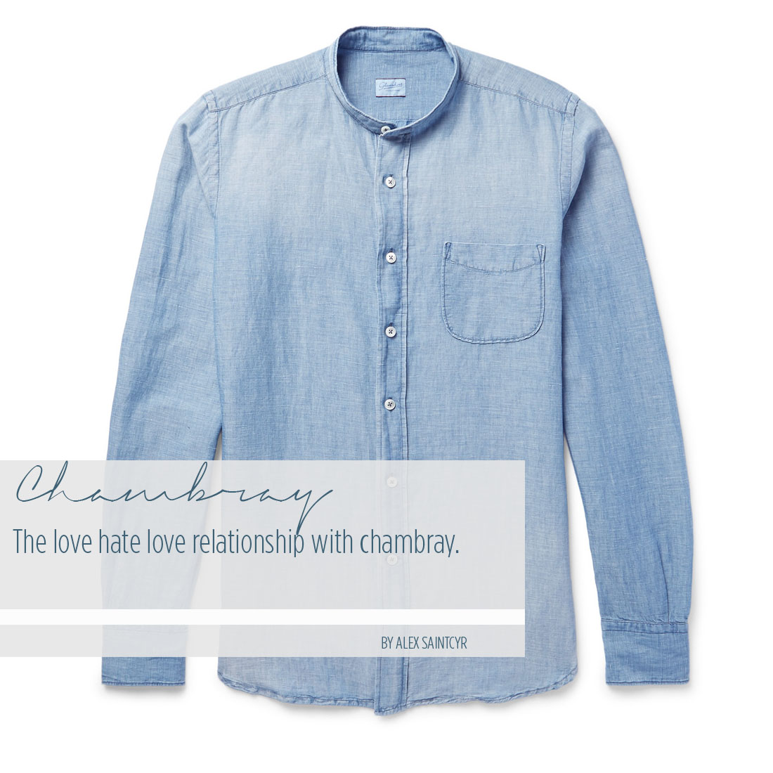 Chambray Cover