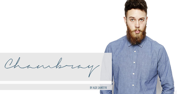 Chambray a closet essential antidote magazine the for Cuisine you chambray